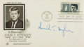 Autographs:Statesmen, [Kennedy Assassination]. Sarah T. Hughes Signed CommemorativeCover. Postmarked Boston: May 29, 1964....
