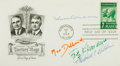 Autographs:Celebrities, [Nobel Prize for Medicine]. Doctors Mayo First Day Cover SIGNED by Four Nobel Prize Winners. Postmarked Rochester: September...