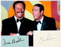 Autographs:Celebrities, [Rowan & Martin's Laugh-In] Dan Rowan and Dick MartinAutographs. ...