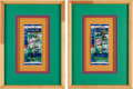 Autographs:Others, 1996 New York Yankees Signed World Series Ticket Stubs Lot of 2.. ...