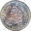 Bust Half Dollars, 1829 50C Small Letters, O-112, R.1, MS65+ PCGS....