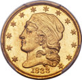 Early Quarter Eagles, 1833 $2 1/2 BD-1, R.5, MS66 PCGS....