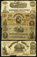 Confederate Notes:Group Lots, Confederate Group Lot.. ... (Total: 31 notes)