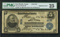 Error Notes:Texas, Fort Worth, TX - $5 1902 Plain Back Fr. 598 The Fort Worth NB Ch. # 3131. ...