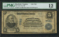 National Bank Notes:Virginia, Bluefield, VA - $5 1902 Plain Back Fr. 598 The Twin City NB Ch. #7782. ...