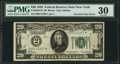 Error Notes:Major Errors, Fr. 2050-B* $20 1928 Federal Reserve Note. PMG Very Fine 30.. ...