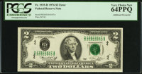 Fr. 1935-D $2 1976 Federal Reserve Note. PCGS Very Choice New 64PPQ