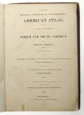 Books:Non-fiction, A Complete Historical, Chronological, and Geographical AmericanAtlas, (Philadelphia: H.C. Carey and I. Lea, 1823), 53 c...
