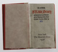"Books:Non-fiction, Bruce Rogers An Unholy Brible Story... (New York: TheMaverick Press, 1936). A scroll 27"" x 2"" contained in miniatur..."