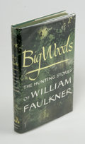 Books:First Editions, William Faulkner: Big Woods (New York: Random House, 1955),first edition. Fine in a fine dust jacket. Green boards. Ori...