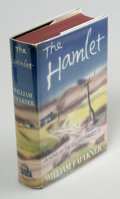 Books:First Editions, William Faulkner: The Hamlet (New York: Random House, 1940),first edition. Fine. In a fine dust jacket. First printing....
