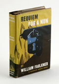 Books:First Editions, Requiem For A Nun. By William Faulkner (New York: RandomHouse, 1950 & 1951) 1st Edition, 286 pages, Original Black ...