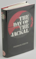 Books:First Editions, Frederick Forsyth: The Day of the Jackal (London:Hutchinson, 1971), first edition. Fine in a fine dustjacket. Firstpri...