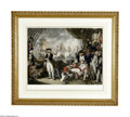 """Antiques:Posters & Prints, Engraving, """"Lord Howe's Victory On The Glorious First of June 1794"""" , 22.5"""" x 18.5"""", engraved and published by Daniel Orme,..."""
