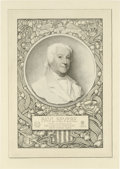 Antiques:Posters & Prints, Society of Iconophiles Series III: Six Portraits Engraved byFrancis S. King (1898-1901) consisting of one limited edition (...(Total: 6 items)