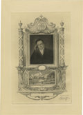 Antiques:Posters & Prints, Society of Iconophiles Series IV: Portrait of DeWitt Clinton and aview of the Battery and Water Parade at the Celebration o...(Total: 3 items)