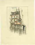 Antiques:Posters & Prints, Society of Iconophiles Series X: Picturesque New York: Twelve Photogravures from Monotypes by C. F. W. Mielatz (1908) consis... (Total: 12 items)