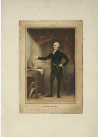 Society of Iconophiles Series XII: One Mezzotint by S. Arlent Edwards (1909) containing the following title:  1. Alexand...