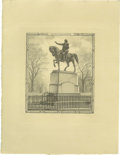 Antiques:Posters & Prints, Society of Iconophiles Series XIII: Three Engravings of Statues byFrancis S. King (1908-1909) consisting of one limited edi...(Total: 6 items)