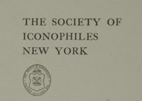 Society of Iconophiles Unpublished Plates Collection consisting of nine prints with a New York City interest ranging in...