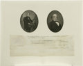 "Autographs:U.S. Presidents, John Tyler and Daniel Webster Document Signed. One page clipped document, 15.5"" x 5.0"", Washington, D.C., July 22, 1841. D..."