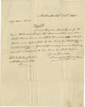 Autographs:U.S. Presidents, James Polk Autograph Letter Signed to a Dedicated Supporter. Eleventh President (1845-1849). Attractive autographed letter ...
