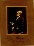 Autographs:Statesmen, Signed Photograph of President Abraham Lincoln's Private SecretaryWilliam Osborn Stoddard Photograph mounted on heavy card...