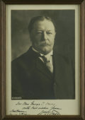"""Autographs:U.S. Presidents, William Howard Taft Signed Studio Photo by Harris and Ewing. Aclassic image of Taft, boldly inscribed below in black ink: """"..."""