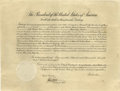 "Autographs:U.S. Presidents, Woodrow Wilson Appoints a U.S. Consul to Great Britain Impressive15.5"" x 20"" document, appointing Maxwell Moorehead as cons..."