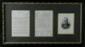 "Autographs:U.S. Presidents, Franklin D.Roosevelt Typed Letter Signed, 2 pages, 6.75"" x 10.0"" on White House stationery, February 4, 1935 to labor attorn..."