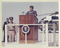 """Photography:Official Photos, John F. Kennedy Original Photos- White Sands Missile Range. A group of nine Official U.S. Army 10"""" x 8"""" color glossy photogr... (Total: 9 )"""