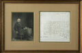 "Autographs:Statesmen, Henry Clay Autograph Letter Signed, ""H Clay"". One page, 7.5""x 7.5"", Washington, D.C., December 25, 1827, to one I.G. R..."