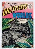 Silver Age (1956-1969):Horror, Mysteries of Unexplored Worlds #1 (Charlton, 1956) Condition:FN....