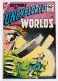 Silver Age (1956-1969):Horror, Mysteries of Unexplored Worlds #3 (Charlton, 1957) Condition:FN....