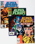 Modern Age (1980-Present):Superhero, Alpha Flight #8-24 Box Lot (Marvel, 1984-85) Condition: AverageVF/NM.... (Total: 2 Box Lots)