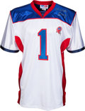 Football Collectibles:Uniforms, 2000's Montreal Alouettes Canadian Football League Jersey Presented to Marv Levy. ...