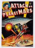 Golden Age (1938-1955):Science Fiction, Attack on Planet Mars #nn (Avon, 1951) Condition: FN-....