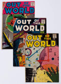 Silver Age (1956-1969):Horror, Out of This World Group of 6 (Charlton, 1958-59) Condition: AverageVG/FN.... (Total: 6 Comic Books)