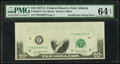 Error Notes:Missing Face Printing (<100%), Fr. 2024-F $10 1977A Federal Reserve Note. PMG Choice Uncirculated64 EPQ.. ...