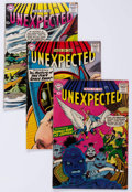 Silver Age (1956-1969):Horror, Tales of the Unexpected Group of 5 (DC, 1958-59).... (Total: 5Comic Books)