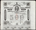 Confederate Notes:Group Lots, Ball 199 Cr. UNL $500 1863 Trans-Mississippi Bond Very Fine.. ...