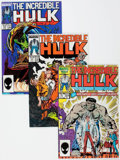 Modern Age (1980-Present):Superhero, The Incredible Hulk Box Lot (Marvel, 1986-88) Condition: AverageVF/NM....