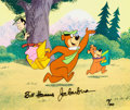 Animation Art:Limited Edition Cel, Yogi Bear Limited Edition Cel #28/300 (Hanna Barbera, 1988)....