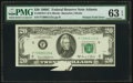 Error Notes:Foldovers, Fr. 2070-F $20 1969C Federal Reserve Note. PMG Choice Uncirculated63 EPQ.. ...