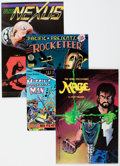 Modern Age (1980-Present):Miscellaneous, Modern Age Alternative Comics Long Box Group (Various Publishers, 1980s) Condition: Average NM-....