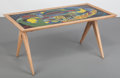 Furniture : Continental, Stig Lindberg (Swedish, 1916-1982) and David Rosén (Swedish,1910-1993). Coffee Table, 1952, Nordiska Kompaniet.Enamel,...
