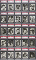 Baseball Cards:Sets, 1936 Goudey Baseball PSA Graded Complete Set (25) - #4 on the PSA Set Registry. ...