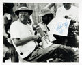 Autographs:Authors, Stephen King Autographed Photo. ...