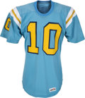 Football Collectibles:Uniforms, 1980-83 Rick Neuheisel Game Worn UCLA Bruins Jersey. ...