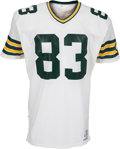 Football Collectibles:Uniforms, 1984 John Jefferson Game Issued Green Bay Packers Jersey. ...